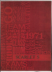 1971 Edition, Shelby High School - Scarlet S Yearbook (Shelby, OH)