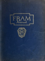 1922 Edition, Sandusky High School - Fram Yearbook (Sandusky, OH)