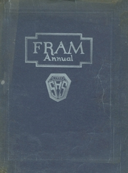 1924 Edition, Sandusky High School - Fram Yearbook (Sandusky, OH)