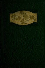1928 Edition, Ross High School - Croghan Yearbook (Fremont, OH)