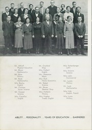 Page 10, 1934 Edition, Ross High School - Croghan Yearbook (Fremont, OH) online yearbook collection