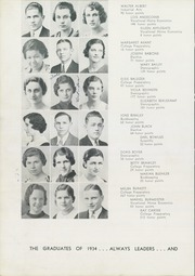 Page 14, 1934 Edition, Ross High School - Croghan Yearbook (Fremont, OH) online yearbook collection