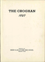 Page 7, 1937 Edition, Ross High School - Croghan Yearbook (Fremont, OH) online yearbook collection