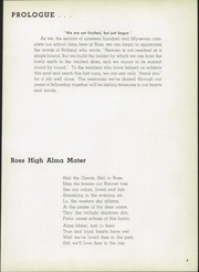 Page 7, 1957 Edition, Ross High School - Croghan Yearbook (Fremont, OH) online yearbook collection