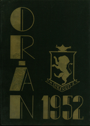 1952 Edition, Orange High School - Oran Yearbook (Pepper Pike, OH)