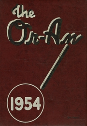 1954 Edition, Orange High School - Oran Yearbook (Pepper Pike, OH)