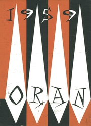 1959 Edition, Orange High School - Oran Yearbook (Pepper Pike, OH)