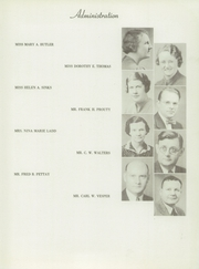 Page 11, 1938 Edition, Troy High School - Trojan Yearbook (Troy, OH) online yearbook collection