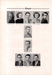Page 16, 1954 Edition, Troy High School - Trojan Yearbook (Troy, OH) online yearbook collection