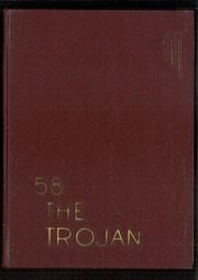 Troy High School - Trojan Yearbook (Troy, OH) online yearbook collection, 1958 Edition, Page 1