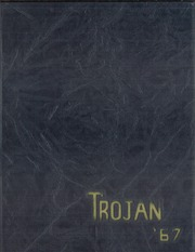Troy High School - Trojan Yearbook (Troy, OH) online yearbook collection, 1967 Edition, Page 1