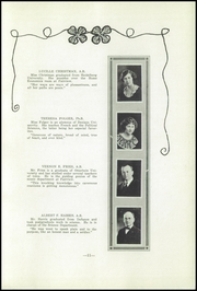 Page 13, 1923 Edition, Fairview High School - Tower Of Memories Yearbook (Dayton, OH) online yearbook collection