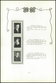 Page 14, 1923 Edition, Fairview High School - Tower Of Memories Yearbook (Dayton, OH) online yearbook collection