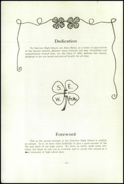 Page 4, 1923 Edition, Fairview High School - Tower Of Memories Yearbook (Dayton, OH) online yearbook collection