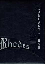 Page 1, 1950 Edition, Rhodes High School - Aries Yearbook (Cleveland, OH) online yearbook collection