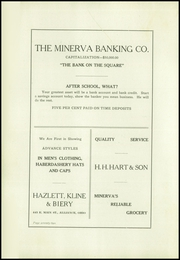 Page 74, 1920 Edition, Minerva High School - Crescent Yearbook (Minerva, OH) online yearbook collection