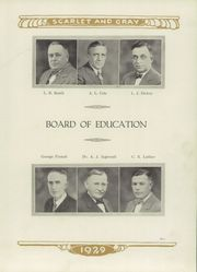 Page 11, 1929 Edition, Mentor High School - Cardinal Notes Yearbook (Mentor, OH) online yearbook collection