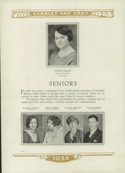 Page 14, 1929 Edition, Mentor High School - Cardinal Notes Yearbook (Mentor, OH) online yearbook collection