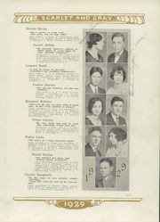 Page 15, 1929 Edition, Mentor High School - Cardinal Notes Yearbook (Mentor, OH) online yearbook collection