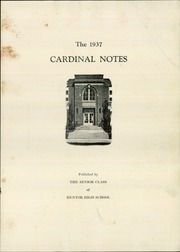 Page 5, 1937 Edition, Mentor High School - Cardinal Notes Yearbook (Mentor, OH) online yearbook collection