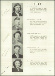Page 16, 1945 Edition, Mentor High School - Cardinal Notes Yearbook (Mentor, OH) online yearbook collection
