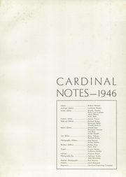Page 5, 1946 Edition, Mentor High School - Cardinal Notes Yearbook (Mentor, OH) online yearbook collection