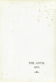 Page 5, 1953 Edition, Harvey High School - Anvil Yearbook (Painesville, OH) online yearbook collection