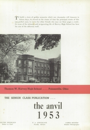 Page 7, 1953 Edition, Harvey High School - Anvil Yearbook (Painesville, OH) online yearbook collection