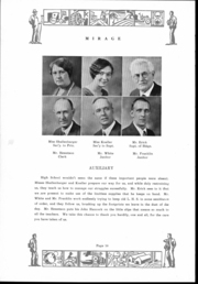 Page 11, 1931 Edition, Lancaster High School - Mirage Yearbook (Lancaster, OH) online yearbook collection