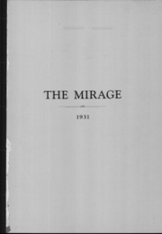 Page 2, 1931 Edition, Lancaster High School - Mirage Yearbook (Lancaster, OH) online yearbook collection