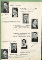 Page 12, 1936 Edition, Boardman High School - Crier Yearbook (Youngstown, OH) online yearbook collection