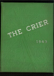 1943 Edition, Boardman High School - Crier Yearbook (Youngstown, OH)