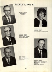 Page 64, 1963 Edition, Ridgeville High School - Carousel Yearbook (North Ridgeville, OH) online yearbook collection