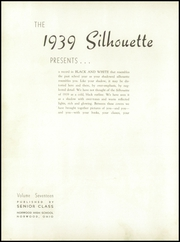 Page 6, 1939 Edition, Norwood High School - Silhouette Yearbook (Norwood, OH) online yearbook collection