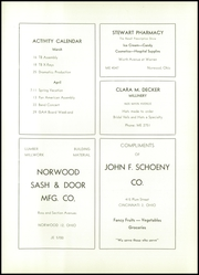 Page 12, 1955 Edition, Norwood High School - Silhouette Yearbook (Norwood, OH) online yearbook collection