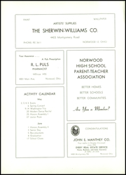 Page 9, 1955 Edition, Norwood High School - Silhouette Yearbook (Norwood, OH) online yearbook collection