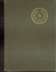 1913 Edition, East High School - Exodus Yearbook (Cleveland, OH)
