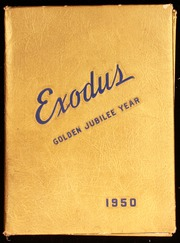 1950 Edition, East High School - Exodus Yearbook (Cleveland, OH)