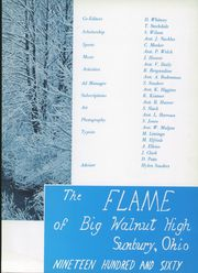 Page 7, 1960 Edition, Big Walnut High School - Flame Yearbook (Sunbury, OH) online yearbook collection