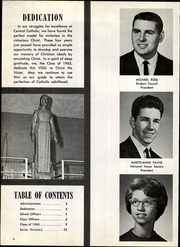 Page 6, 1965 Edition, Central Catholic High School - Vigil Yearbook (Canton, OH) online yearbook collection