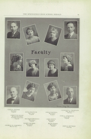 Page 13, 1924 Edition, Springfield Senior High School - Wildcat Yearbook (Springfield, OH) online yearbook collection