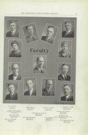 Page 15, 1924 Edition, Springfield Senior High School - Wildcat Yearbook (Springfield, OH) online yearbook collection
