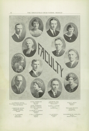Page 10, 1925 Edition, Springfield Senior High School - Wildcat Yearbook (Springfield, OH) online yearbook collection
