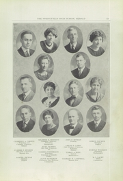 Page 13, 1925 Edition, Springfield Senior High School - Wildcat Yearbook (Springfield, OH) online yearbook collection