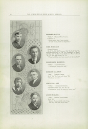 Page 16, 1925 Edition, Springfield Senior High School - Wildcat Yearbook (Springfield, OH) online yearbook collection
