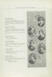 Page 17, 1925 Edition, Springfield Senior High School - Wildcat Yearbook (Springfield, OH) online yearbook collection