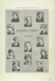 Page 7, 1925 Edition, Springfield Senior High School - Wildcat Yearbook (Springfield, OH) online yearbook collection
