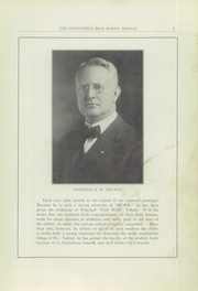 Page 9, 1925 Edition, Springfield Senior High School - Wildcat Yearbook (Springfield, OH) online yearbook collection