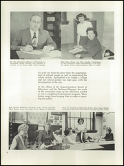Page 10, 1950 Edition, Springfield Senior High School - Wildcat Yearbook (Springfield, OH) online yearbook collection