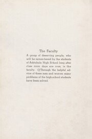Page 12, 1938 Edition, Ashtabula High School - Dart Yearbook (Ashtabula, OH) online yearbook collection